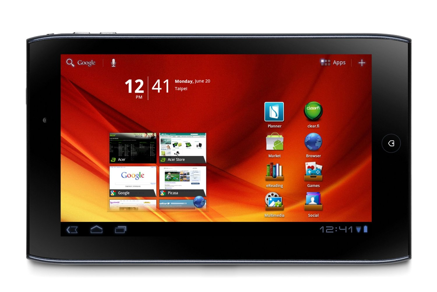 Acer Iconia Tab A100 7 inch