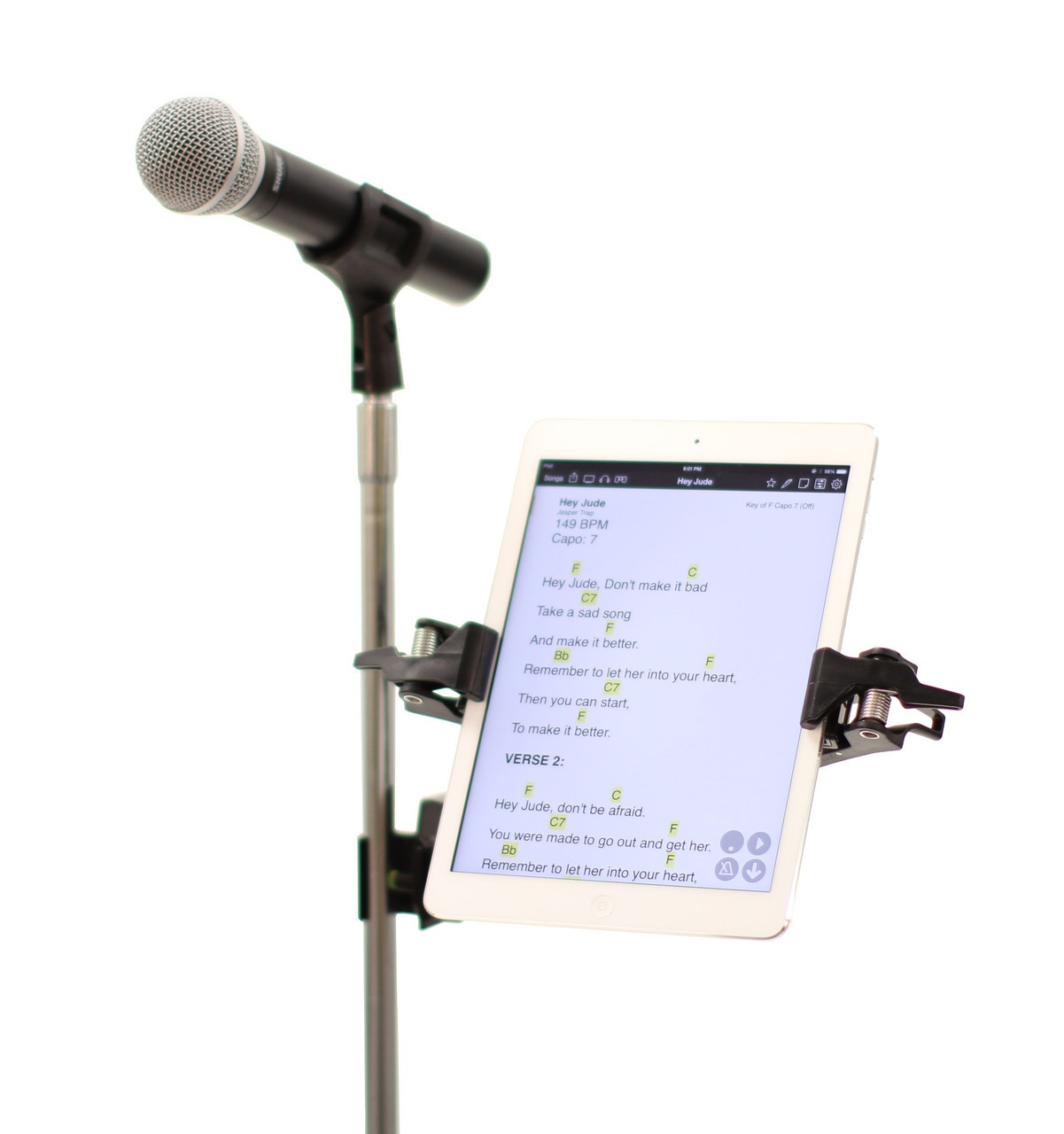 MANOS Tablet Holder w/Side Mount