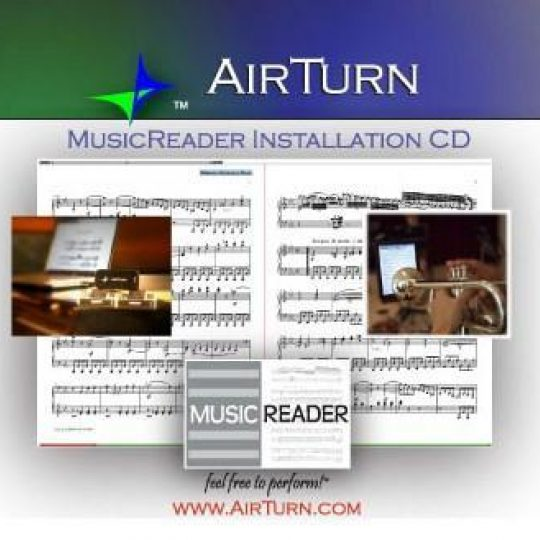 MusicReader PDF 4 Software for MAC and PC on CD